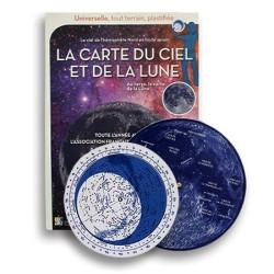 Carte du Ciel et de la Lune...